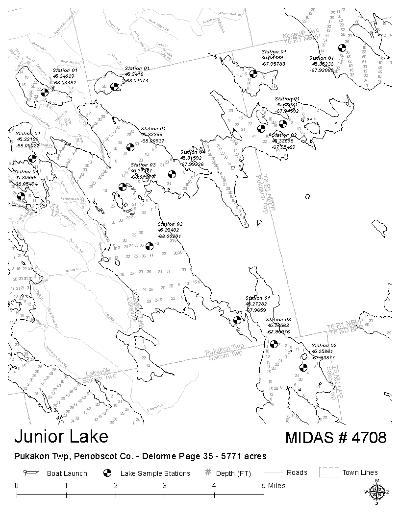 lakes of maine - water quality - junior lake