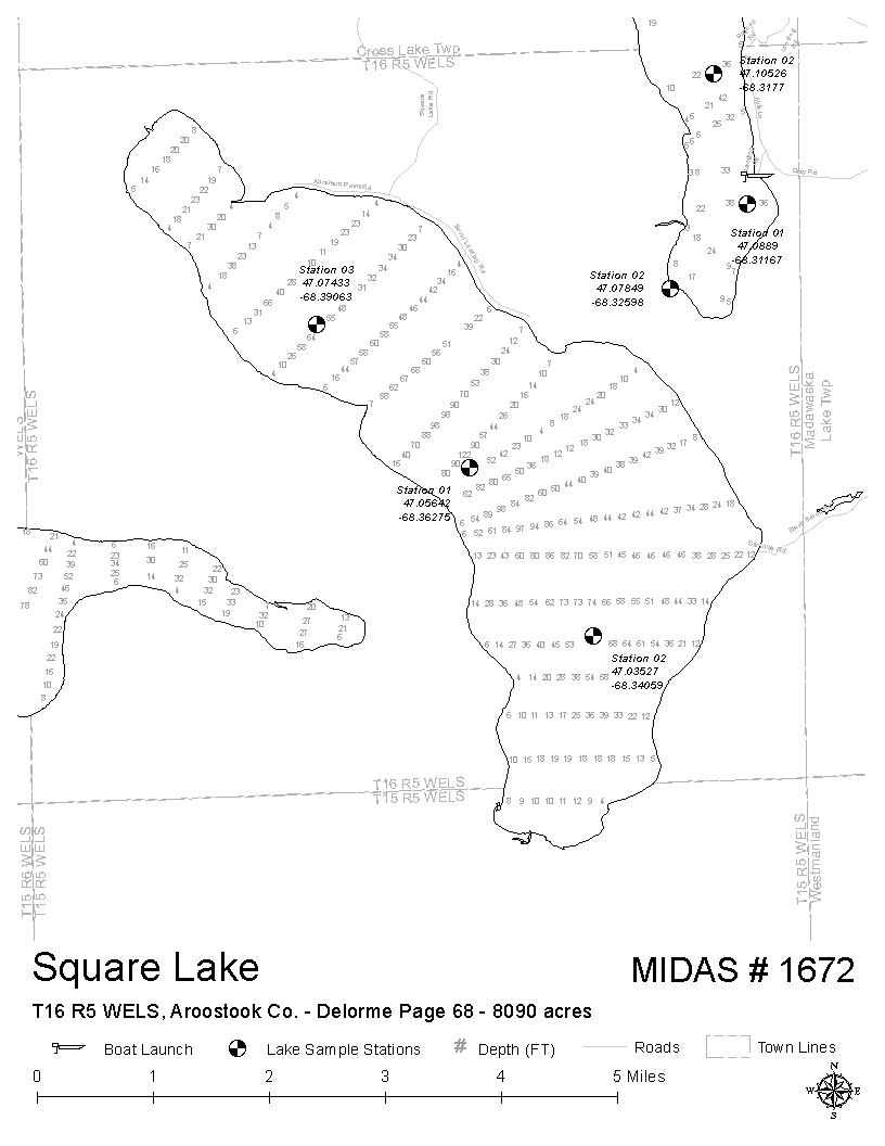 Lakes of Maine - Lake Overview - Square Lake - T15 R6 WELS ... on maine zip code map, maine hunting districts map, maine state parks map, university of maine orono map, maine state police zone map, maine regions map, maine hunting zones map, maine on a map, maine power outage map, rockwood maine map, maine natural resource map, ashland maine map, maine narrow gauge railroad map, maine ski areas map, southern maine community college campus map, maine golf courses map, maine expanded archery map, maine lakes map, maine united states map, maine snow depth map,
