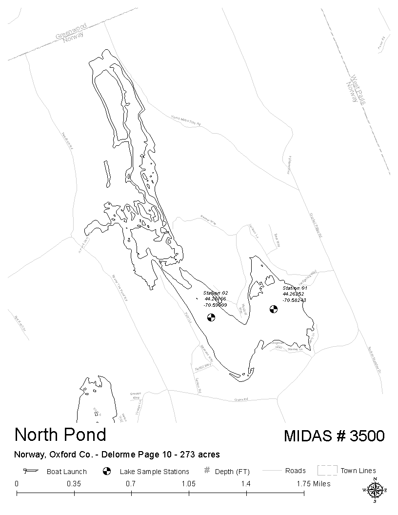 Image Result For Maine Lakes Map