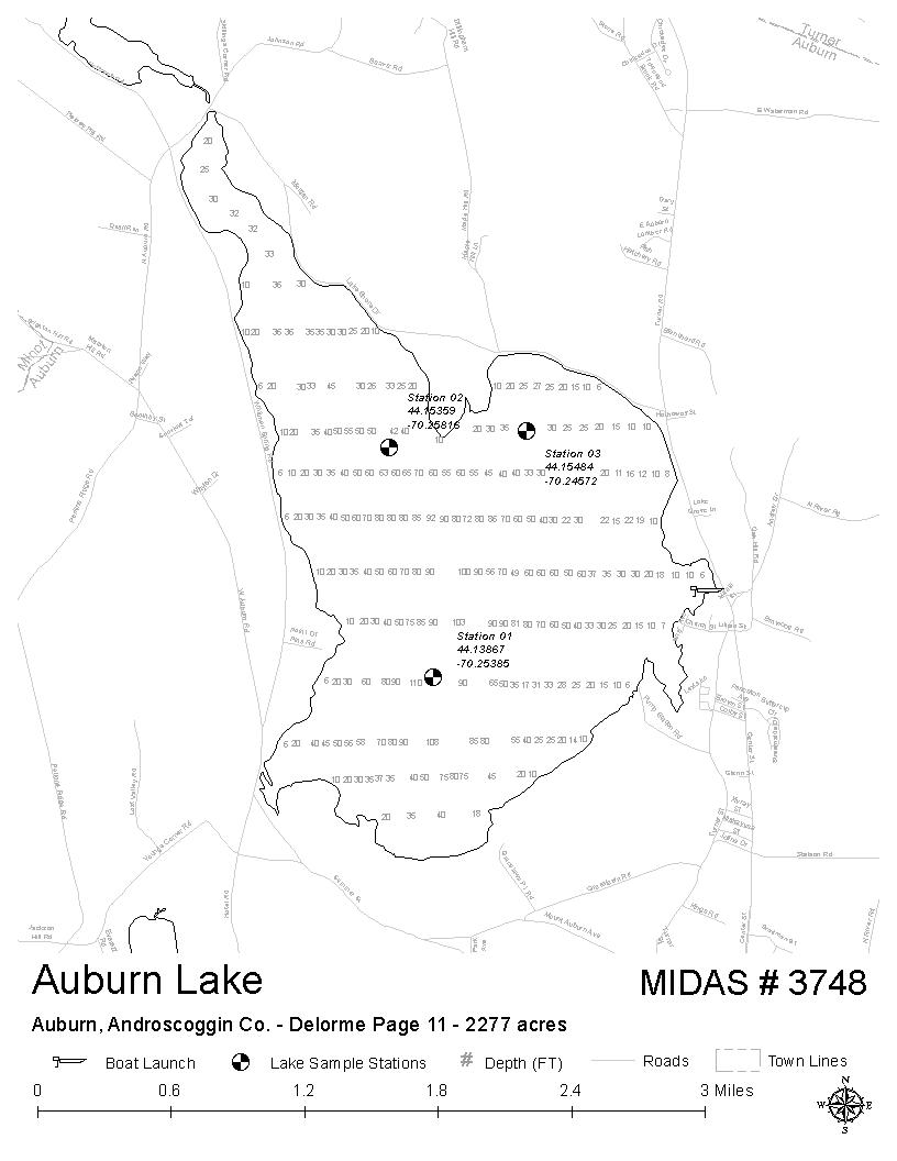 Lakes Of Maine Lake Overview Auburn Lake Auburn Androscoggin