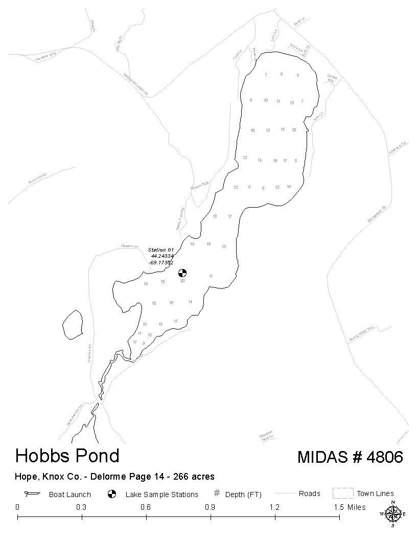 Lakes of maine lake overview hobbs pond hope knox maine click publicscrutiny Choice Image