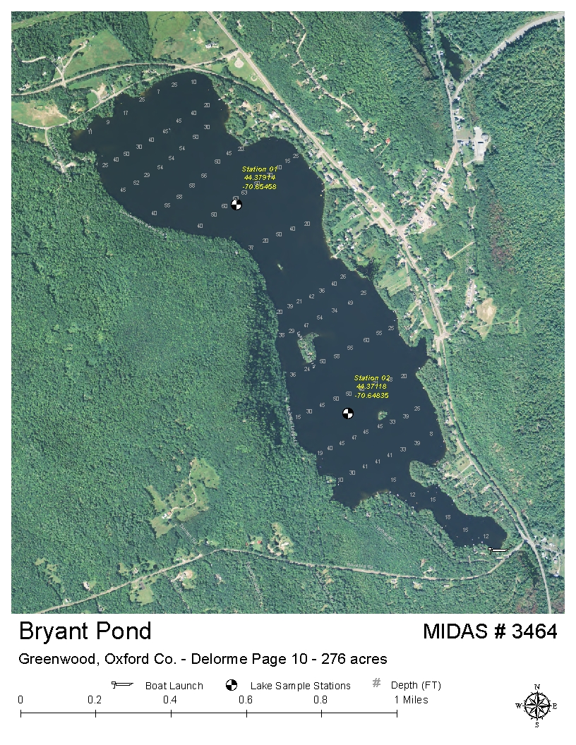Lakes of Maine   Lake Overview   Bryant Pond (Lake Christopher