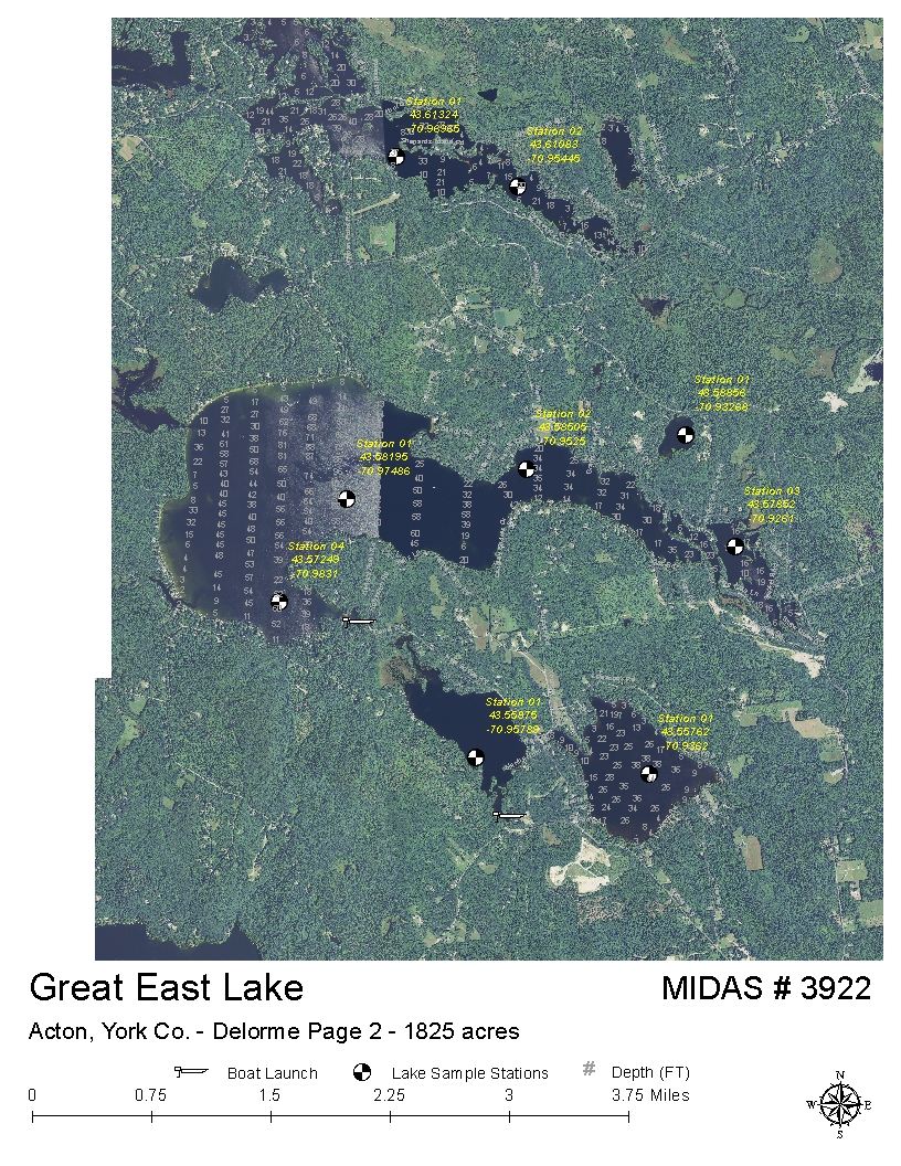 Lakes Of Maine Lake Overview Great East Lake Acton York Maine