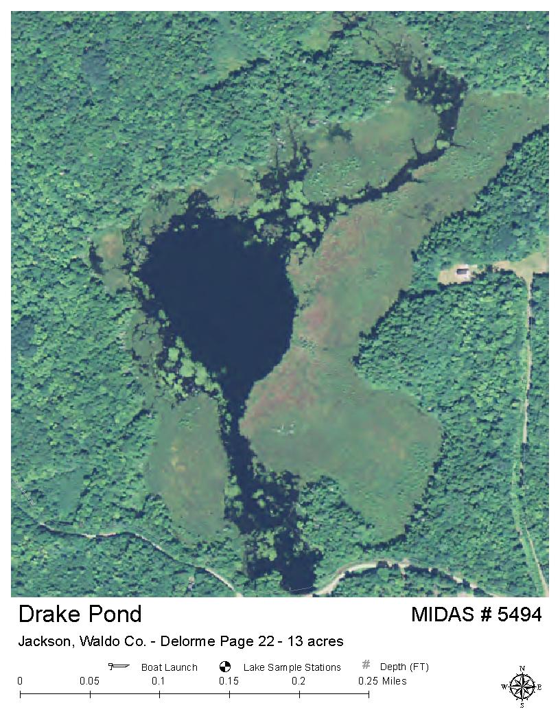 Drake Page Map on